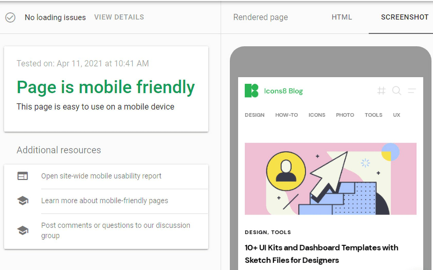 10 simple steps to make your website mobile-friendly: Google Mobile-friendly test