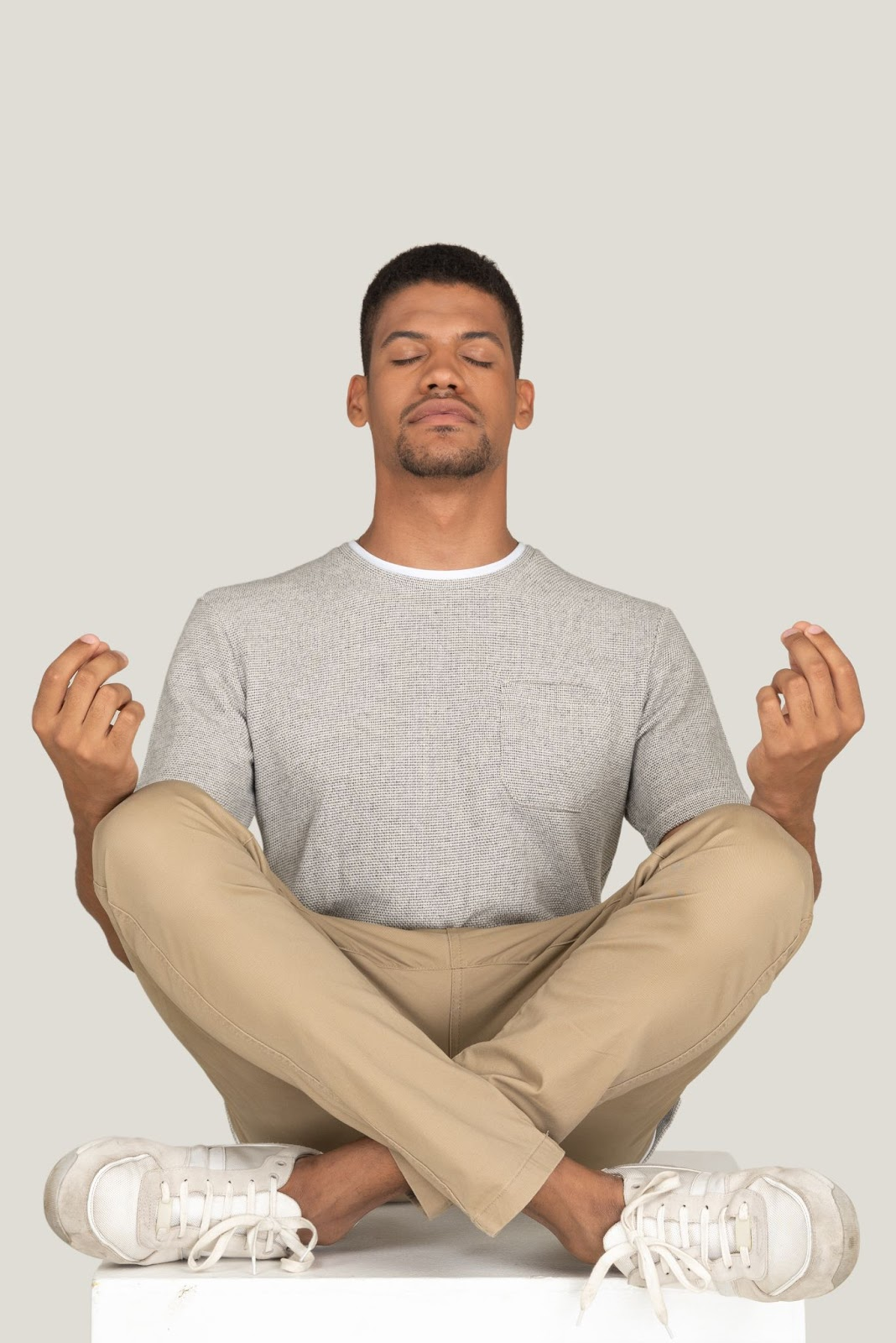 Get calm: enjoy the graphic set for the Yoga And Meditation day. I need to meditate. Please, don't push me