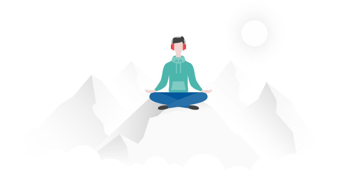 Get calm: enjoy the graphic set for the Yoga And Meditation day. Yoga in nature