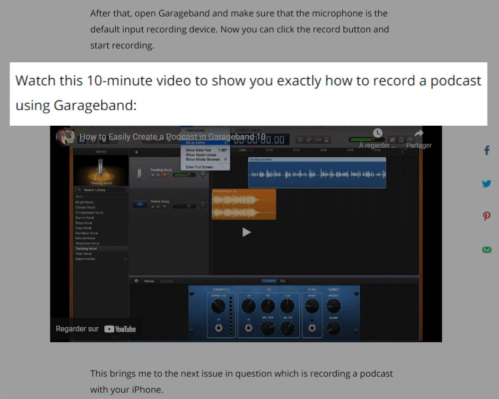 7 UX Best Practices for Designing your Blog Posts in 2021. Embeded video