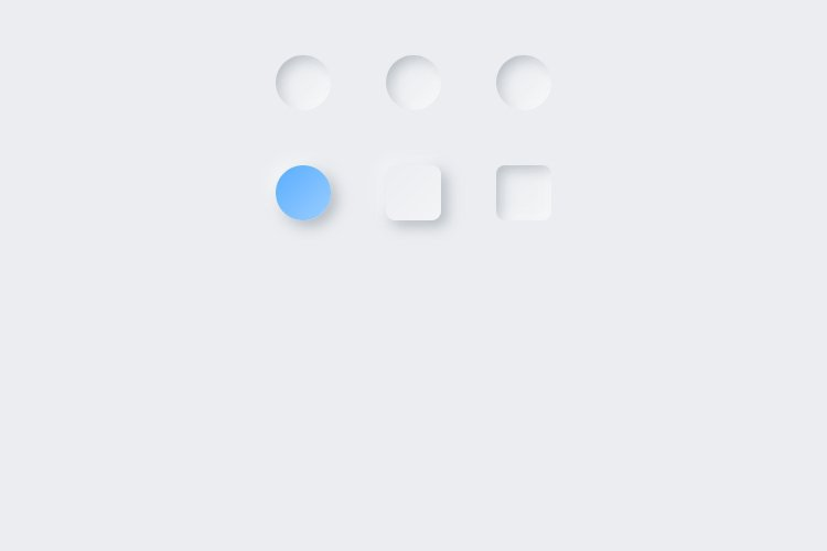 Lunacy tutorial: Neumorphism in UI design: Creating a colored round button-2
