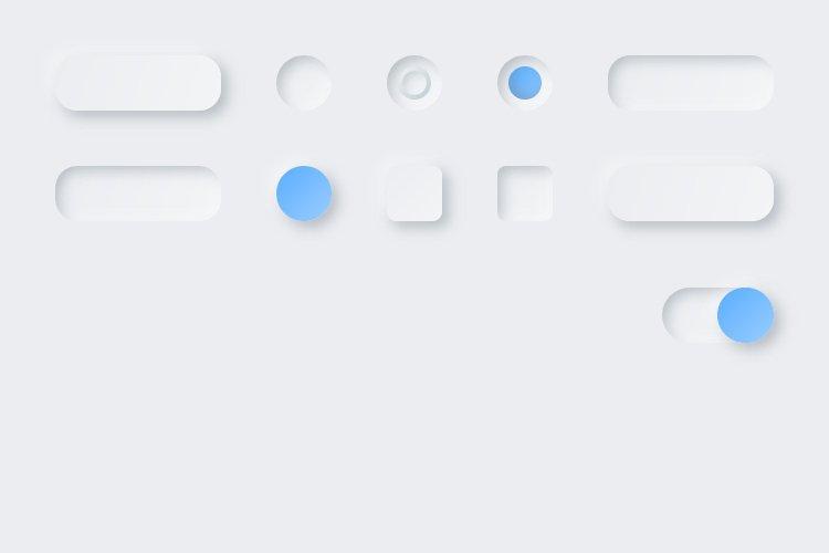 Lunacy tutorial: Neumorphism in UI design: Creating toggles
