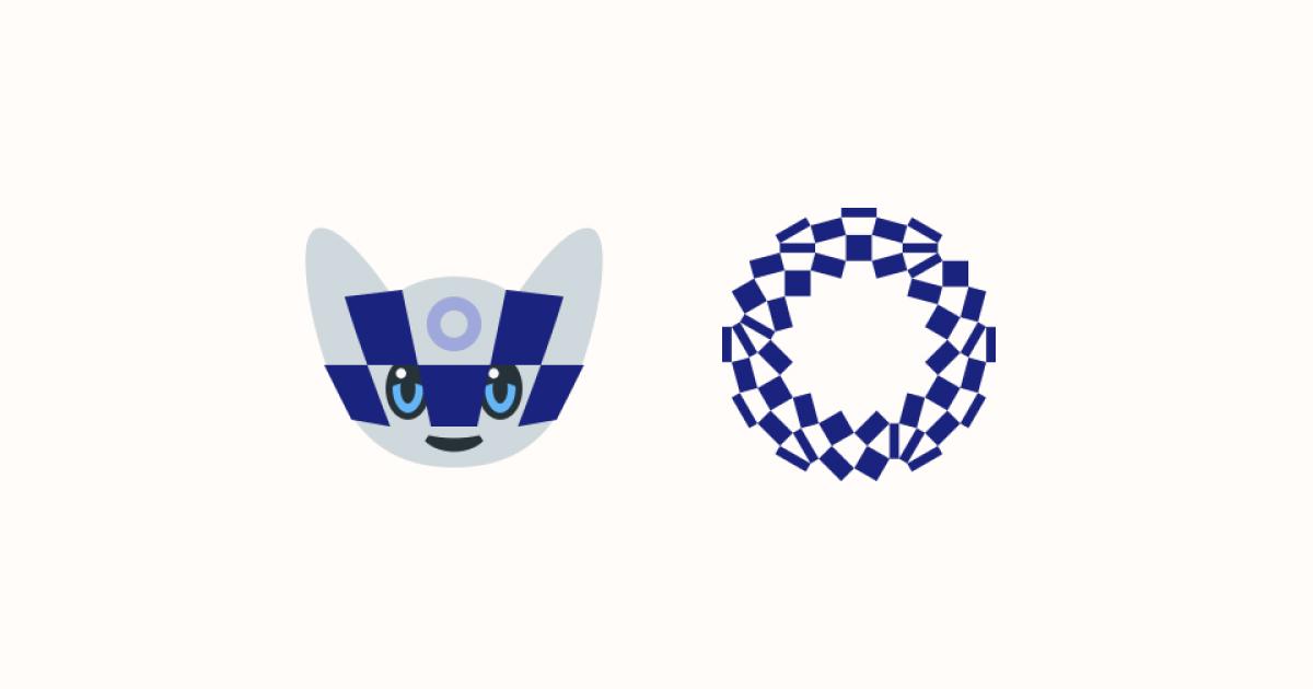 Tokyo Olympics Ultimate Graphic Bundle: mascots, logos & flags: Miraitowa