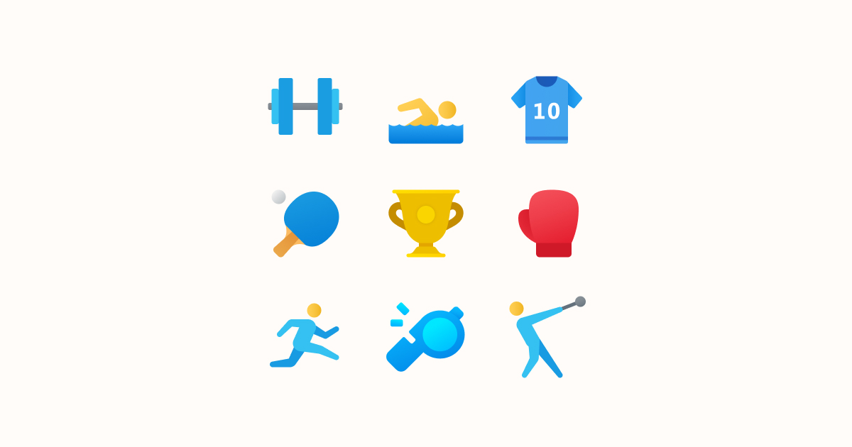 Tokyo Olympics Ultimate Graphic Bundle: mascots, logos & flags: icons set on light yellow background