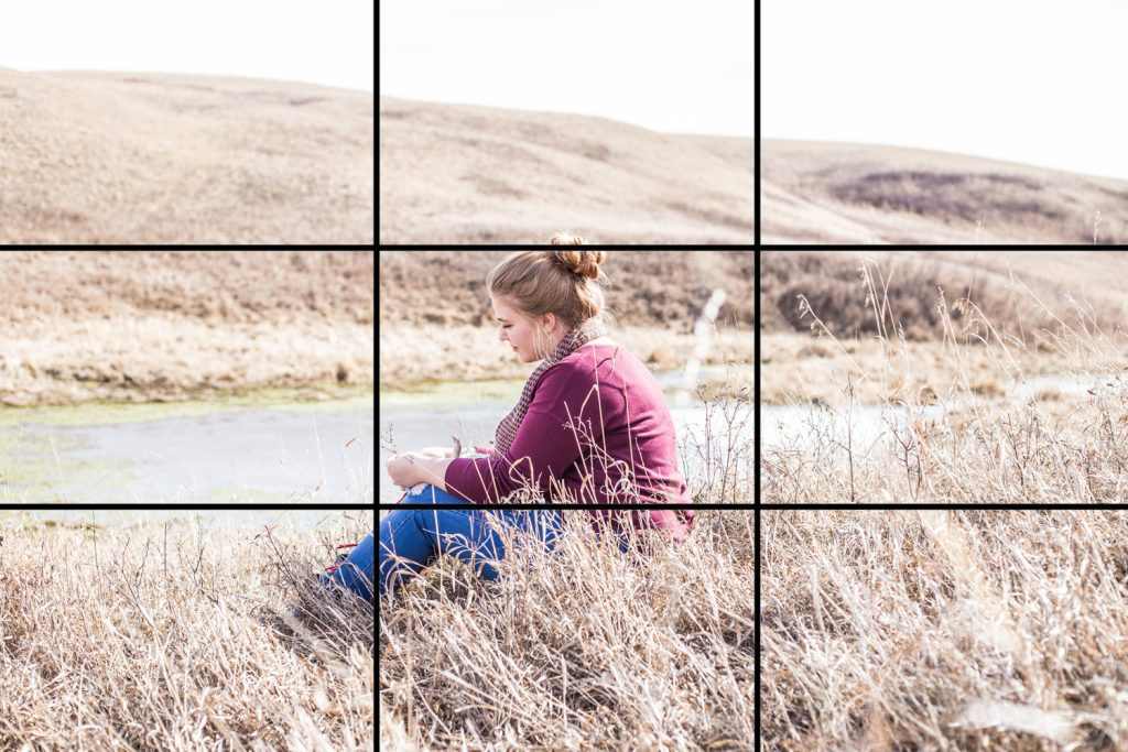 Five basic сomposition rules for photographers: rule of thirds