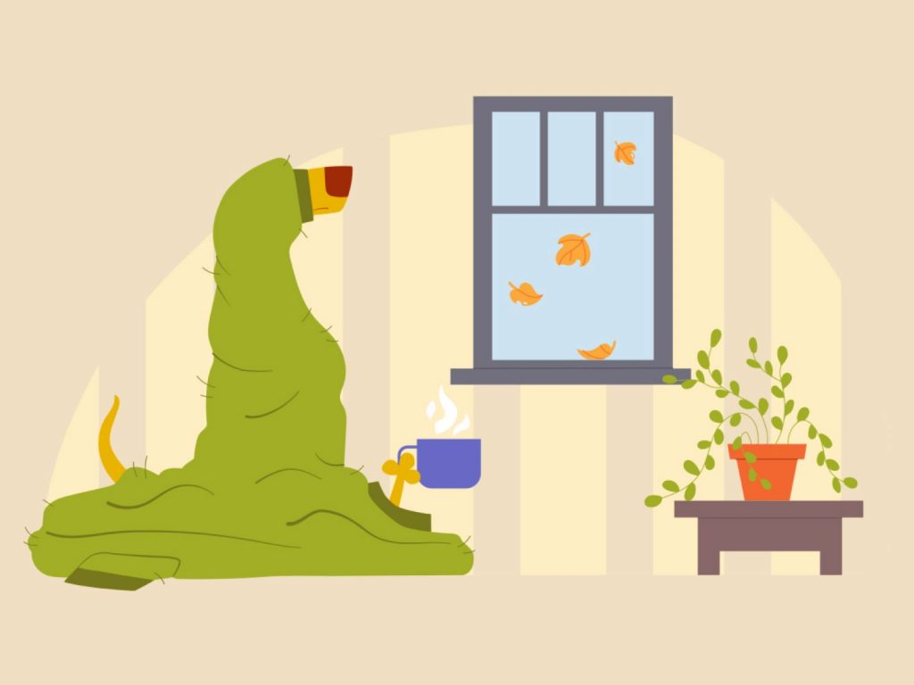 Beautiful autumn illustrations for UI, web, email, and inspiration: Autumn mood
